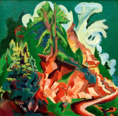 The mountain - Ernst Ludwig Kirchner