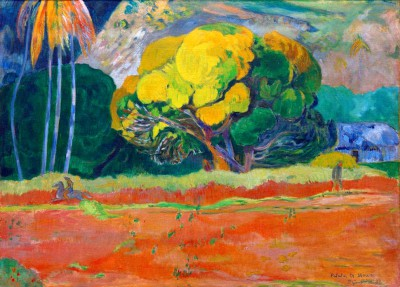 The Mountain is Close - Paul Gauguin