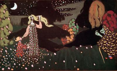 The Night - Wassily Kandinsky