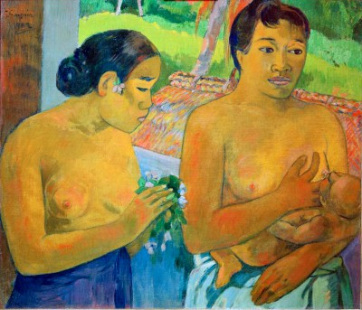 The Offering - Paul Gauguin