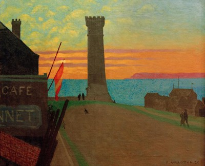 The old lighthouse of Honfleur - Félix Vallotton
