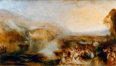 The Opening of the Wallhalla - William Turner
