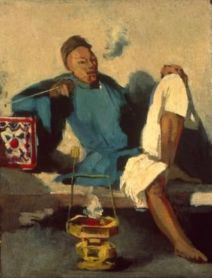 The opium smoker - Odilon Redon