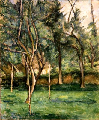 The orchard (2) - Paul Cézanne