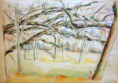 The Orchard - Paul Cézanne