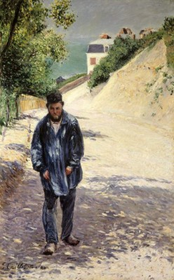 The Painter Claude Monet - Gustave Caillebotte