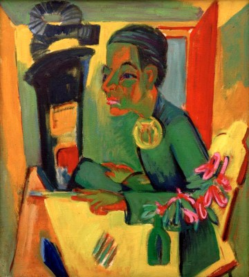The Painter Self-Portrait - Ernst Ludwig Kirchner