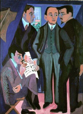 The painters of 'Die Bruecke' - Ernst Ludwig Kirchner