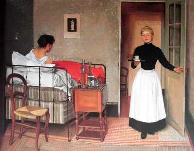 The patient - Félix Vallotton