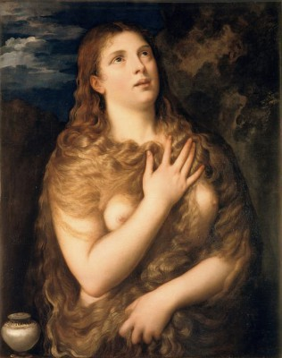 The Penitent Mary Magdalene - Tycjan