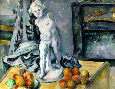 The plaster putto (2) - Paul Cézanne