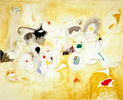 The Plough and the Song - Arshile Gorky