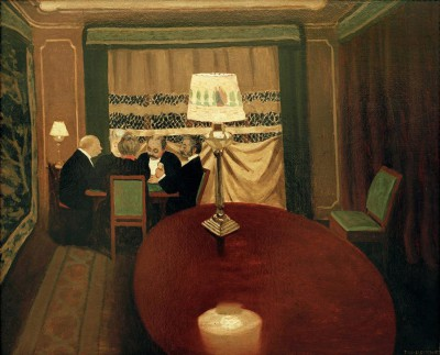 The poker players - Félix Vallotton
