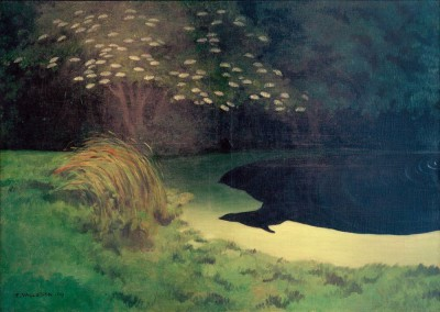 The pond (Honfleur) - Félix Vallotton