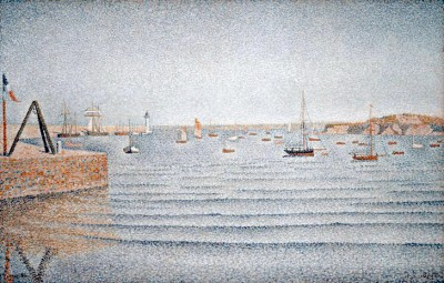 The port of Portrieux - Paul Signac
