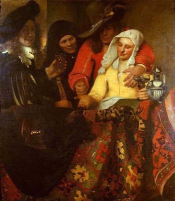 The Procuress - Jan Vermeer