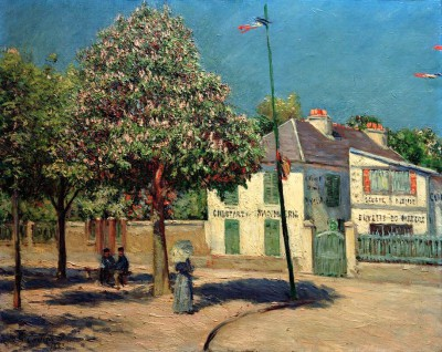 The Promenade in Argenteuil - Gustave Caillebotte