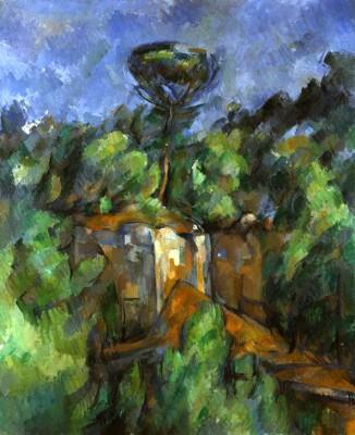 The quarry at Bibémus - Paul Cézanne