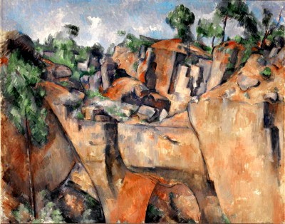 The quarry of Bibemus (2) - Paul Cézanne