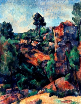 The quarry of Bibemus - Paul Cézanne