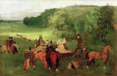 The Racecourses - Edgar Degas