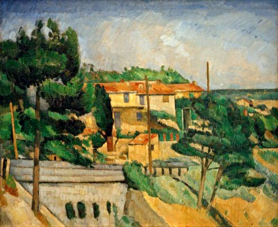 The Railway Bridge near L'Estaque - Paul Cézanne