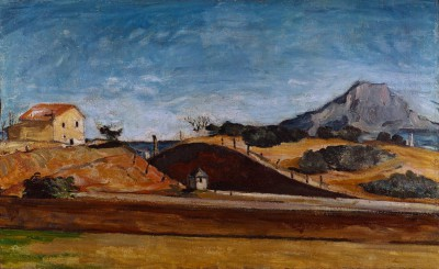 The railway cutting with the Mont Sainte-Victoire - Paul Cézanne