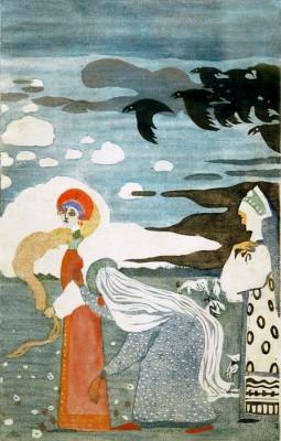 The Ravens - Wassily Kandinsky