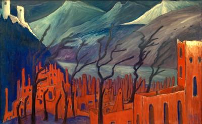 The red city - Marianne von Werefkin