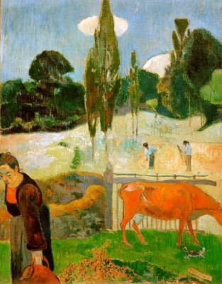 The red cow - Paul Gauguin