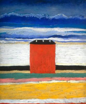 THE RED HOUSE - Kazimierz Malewicz