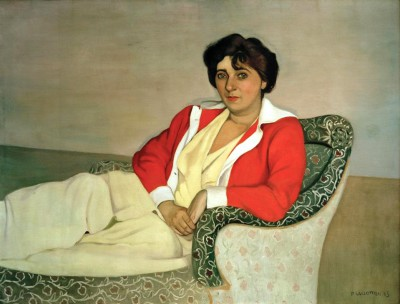 The red jacket - Félix Vallotton