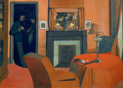 The red room - Félix Vallotton