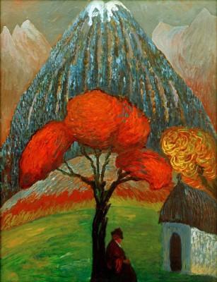 The red tree - Marianne von Werefkin