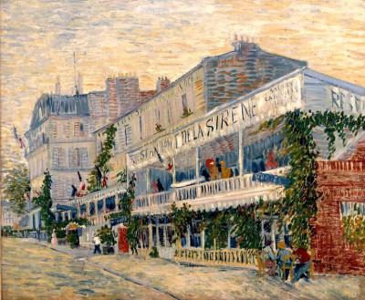 The restaurant de la Sirène in Asnières - Vincent van Gogh