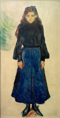 The sad girl - Edvard Munch