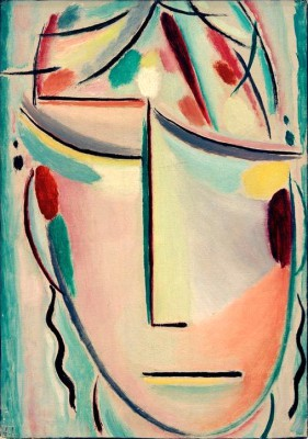 The Saviors Face - pain - Aleksiej Jawlensky
