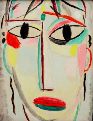 The Saviour's face the holy hour –last look - Aleksiej Jawlensky