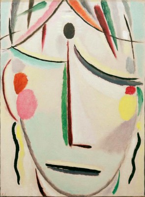 The Saviours face look of last hope - Aleksiej Jawlensky