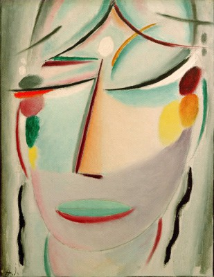 The Saviours face smile - Aleksiej Jawlensky
