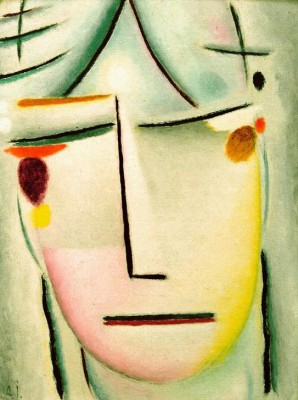 The Saviours face starlight - Aleksiej Jawlensky