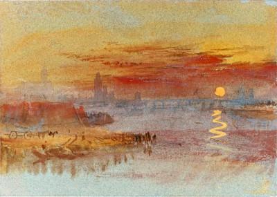 The Scarlet Sunset - William Turner
