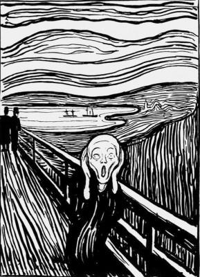 The Scream (2) - Edvard Munch