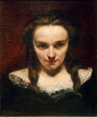 The Seeress or The Sleepwalker - Gustave Courbet
