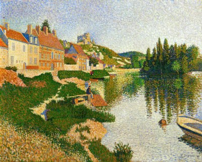 The Seine - Paul Signac