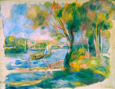 The Seine at Argenteuil (2) - Pierre Renoir