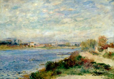 The Seine at Argenteuil - Pierre Renoir