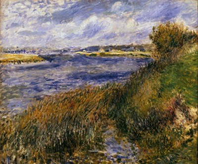 The Seine at Champrosay - Pierre Renoir