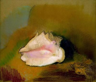The Shell - Odilon Redon