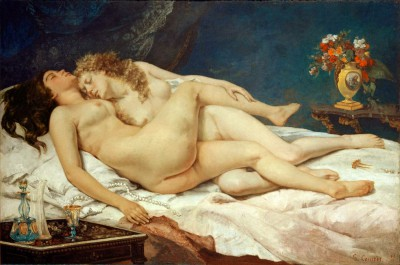 The sleep - Gustave Courbet